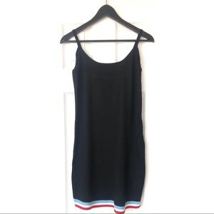 UO - Verbier Striped Slip Dress